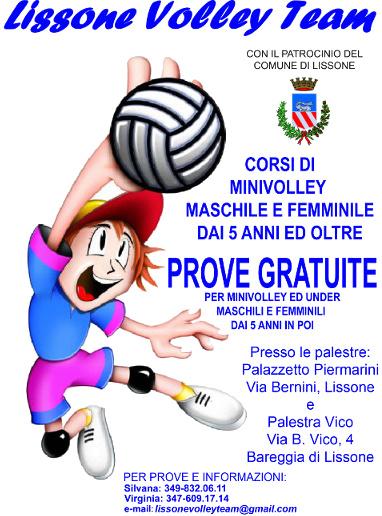 Volantino Prove Gratuite 2016
